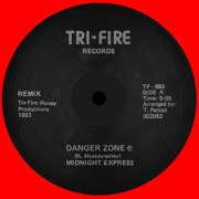 Danger Zone (red vinyl)