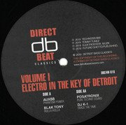 Electro In The Key Of Detroit Volume 1