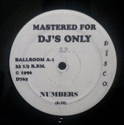 Mastered For DJ's Only E.P. - Numbers / Body Mechanic