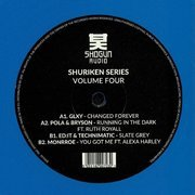Shuriken Series Vol.4 (blue vinyl)