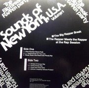 Sounds Of New York, U.S.A. Volume 1 - The Big Break Rapper Party