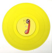 Tell Ya Something (yellow vinyl) one-sided