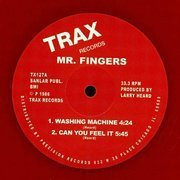Washing Machine / Can You Feel It (Red Vinyl Repress)