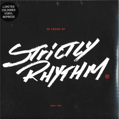 30 Years Of Strictly Rhythm Part Two (Clear Vinyl Repress)
