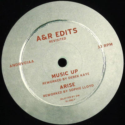 A&R Edits Revisited #1