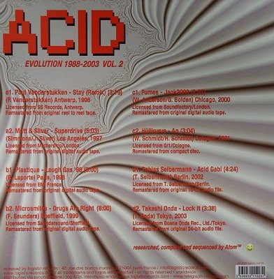 Acid Evolution 1988-2003 Vol. 2