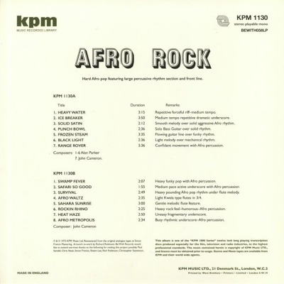 Afro Rock (180g)