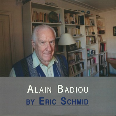 Alain Badiou (one-sided) + 88 page book