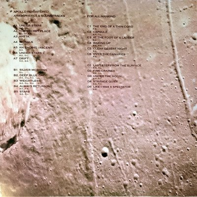 Apollo: Atmospheres & Soundtracks (Extended Edition) gatefold