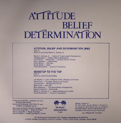 Attitude, Belief & Determination