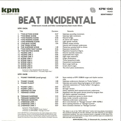 Beat Incidental (180g)