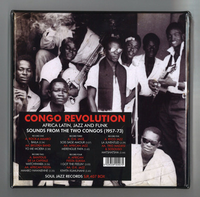 Congo Revolution: Afro Latin Jazz And Funk Evolutionary And Revolutionary Sounds From The Two Congos (Box Set) (Record Store Day 2018)