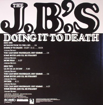 Doing It To Death (LP + poster)