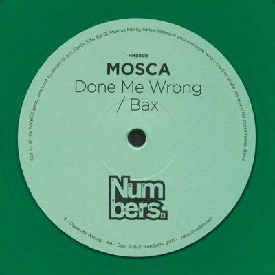 Done Me Wrong / Bax (green vinyl)