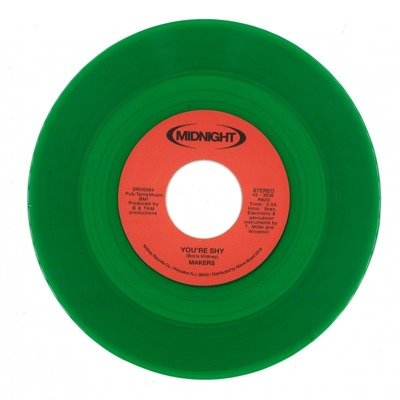 Don't Challenge Me / You're Shy (transparent green vinyl)