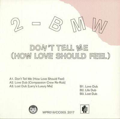Don't Tell Me (How Love Should Feel)