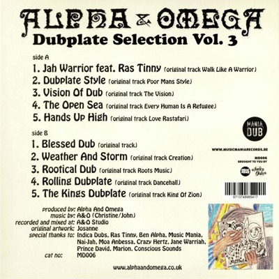 Dub Plate Selection Vol. 3
