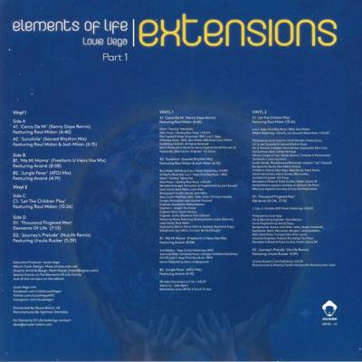Elements Of Life: Extensions Part 1