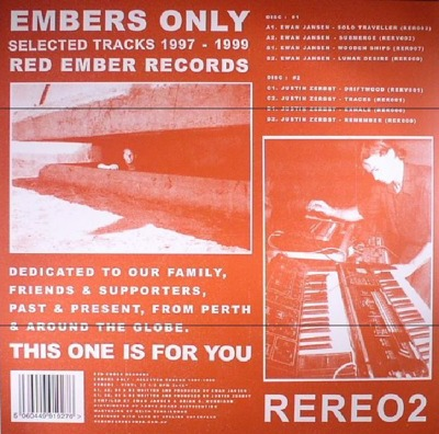 Embers Only: Selected Tracks 1997-1999