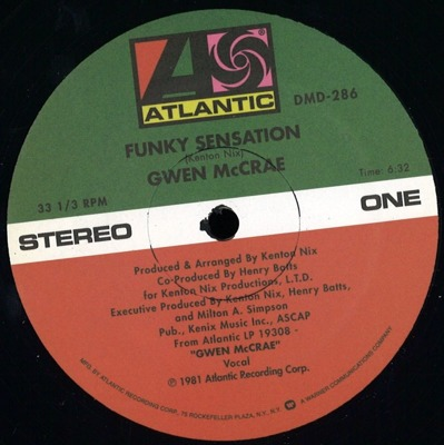 Funky Sensation / Keep The Fire Burning