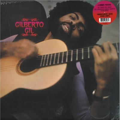Gilberto Gil (180g) coloured vinyl