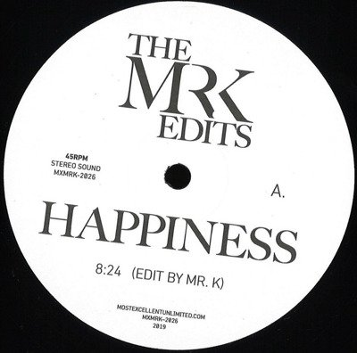 Happiness / As (The Mr. K Edits)