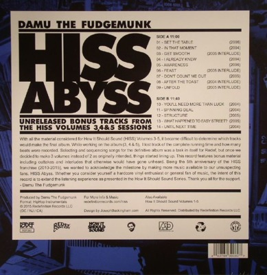 Hiss Abyss: How It Should Sound Vol. 3-4-5 (10-inch LP) coloured vinyl