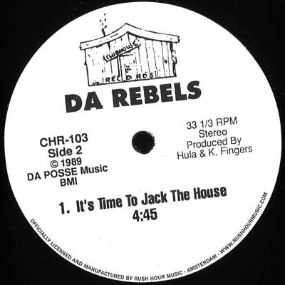 House Nation Under A Groove / It's Time To Jack