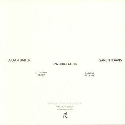 Invisible Cities (180g)