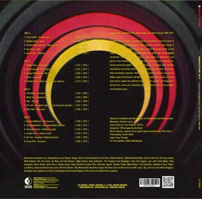 Jugoton Funk Vol. 1: A Decade Of Non Aligned Beats, Soul, Disco And Jazz 1969-1979 (gatefold)