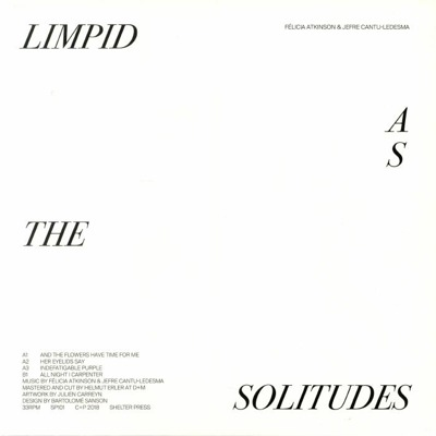Limpid As The Solitudes