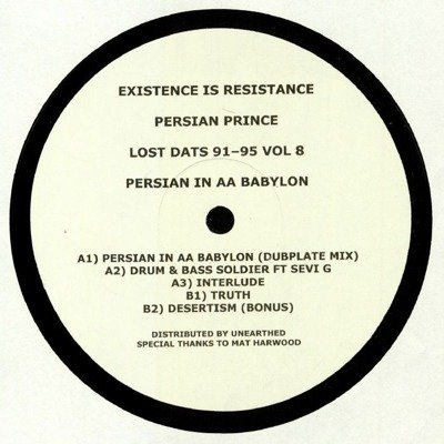 Lost Dats 91-95 Vol 8 Persian In AA Babylon