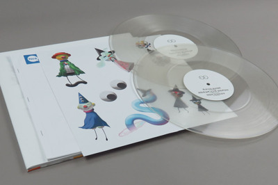 Neo Wax Bloom (clear vinyl) 180g + booklet + stickers