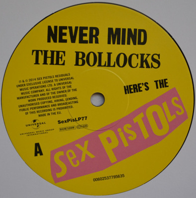 Never Mind The Bollocks, Here's The Sex Pistols (180g)