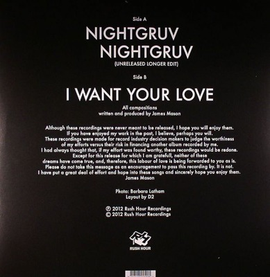Nightgruv / I Want Your Love