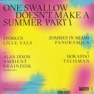 One Swallow Doesn't Make A Summer Part 1