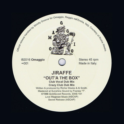 Out'A The Box (reissue)