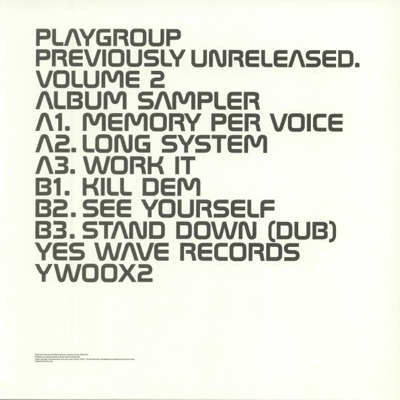 Previously Unreleased Volume 2 Album Sampler