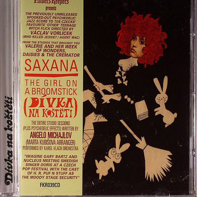 Saxana - The Girl On A Broomstick (Divka Na Kosteti) O.S.T.