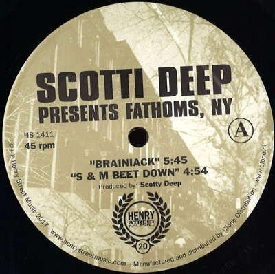 Scotti Deep Presents Fathoms, NY: Brainiack