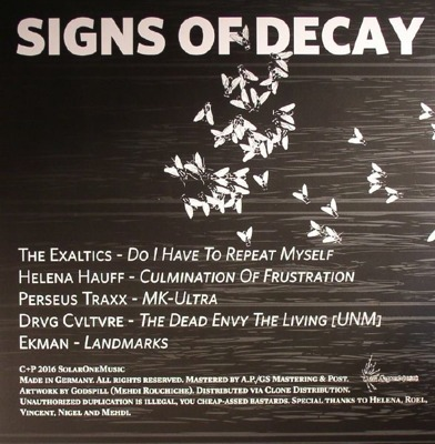 Signs of Decay
