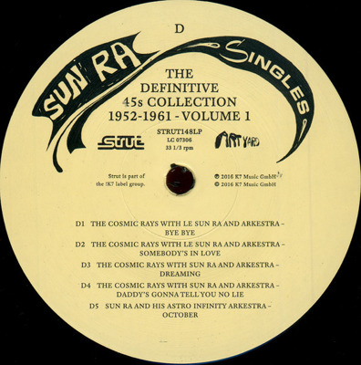 Singles Volume 1: Definite 45s Collection 1952-1961
