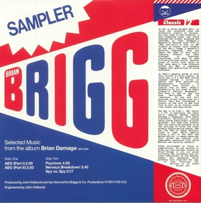 Special Sampler (Selected Music From The Album Brian Damage)