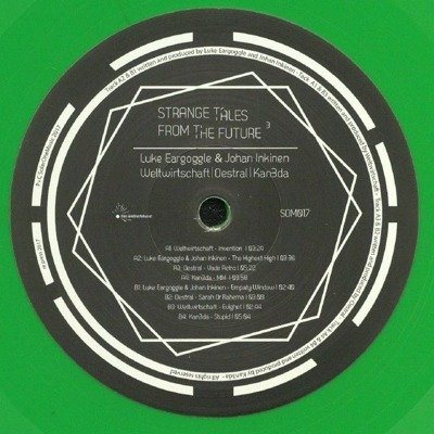 Strange Tales From The Future Vol. 3 (green vinyl)