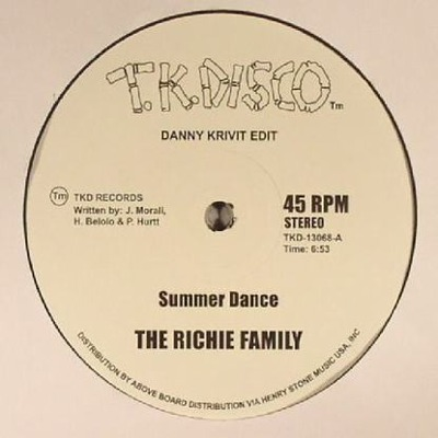 Summer Dance (Danny Krivit Edit) / At The Top Of The Stairs (Danny Krivit Edit)