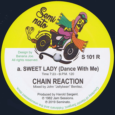 Sweet Lady 〈Dance With Me〉