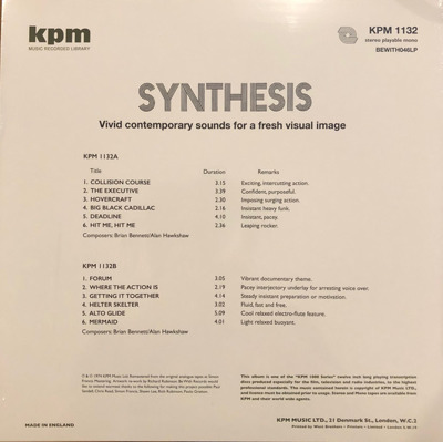 Synthesis (180g)
