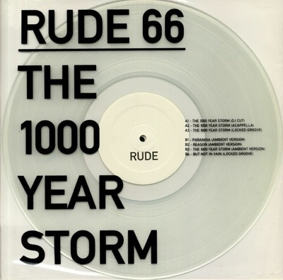 The 1000 Year Storm EP (clear vinyl)