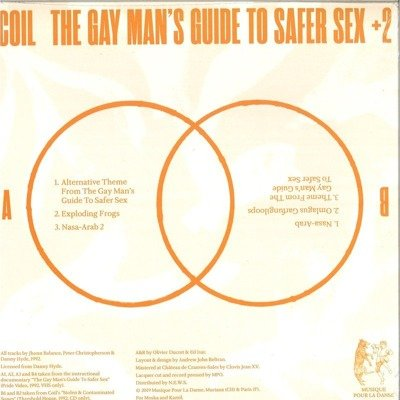 The Gay Man's Guide To Safer Sex +2 (orange vinyl)