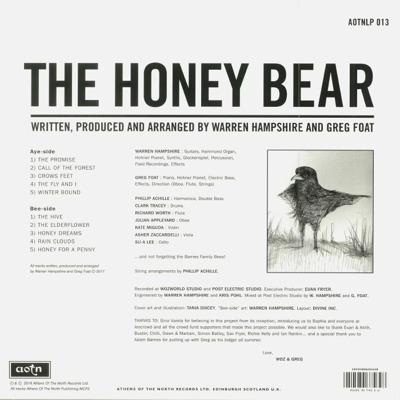 The Honey Bear (honey coloured vinyl)